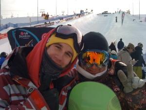 me and Luka the slovenian coach