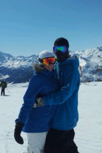 Babegirl and me having such a good day on the slopes in Mayrhofen